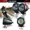 Motorcycle rear light led motorcycle light ip68 waterproof pure aluminum