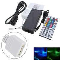 NEW Hot sales Excellent Quality 44 Key IR Remote Controller + 5A Power Supply For 3528 5050 RGB LED Strip Light