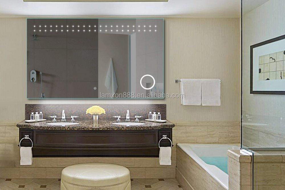 현대적인 욕실 디자인 마법 거울 센서 주도 라이트 박스, 조명 ...