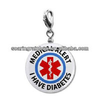 medical alert charms wholesale
