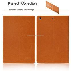 2015 Diluo Smart Cover Leather Compendium For Ipad Air Case