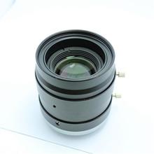 Low distortion C Mount Manual focus 35mm Machine vision lens 10 Megapixel FA lens