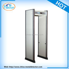 Security checking door frame arco arch way walk thru metal detector china