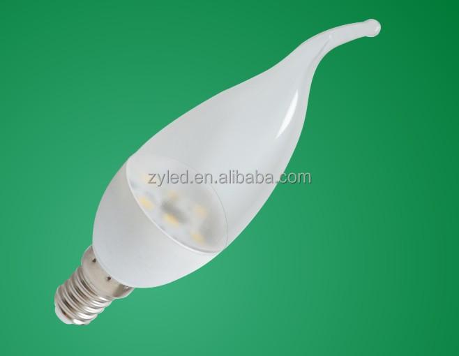 C37 E14 4W ceramic LED candle light