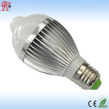 8 W E26 E27 Warm White LED Motion Sensor Light Bulb LED Motion Bulb Motion Activated Light