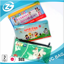 Promotion zipper pvc pen bag