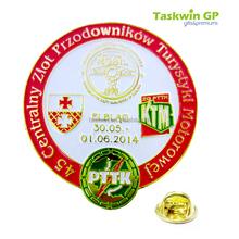 Hot new product metal pin brooch for sale /Custom wholesale pin badge/collar pin