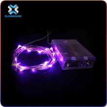 Factory wholesale cheap battery operated Christmas Led Firefly Flexible String Light