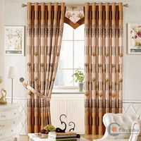 China new styles of curtains
