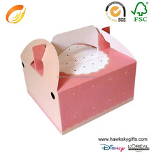 Wholesale Cardboard Giant Single Paper Box For Cupcake
