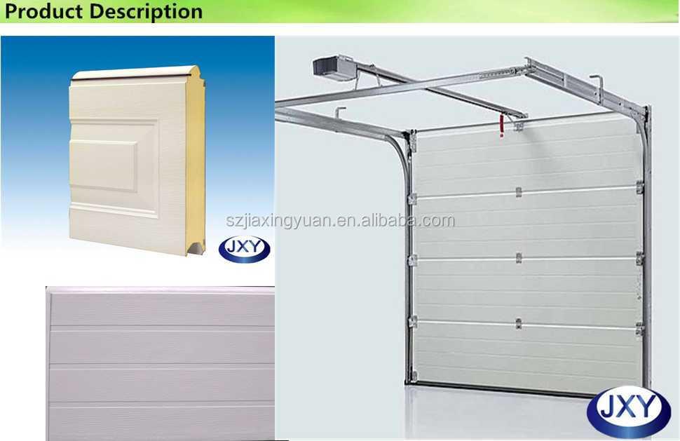 Fashion strong and durable wind resistant garage door factory for Wind code garage doors