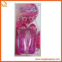 Very mini!! 2014 New Fashions baby doll shoes mini toy shoes MU0710527-4