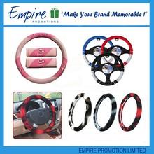 Wholesale fashionable custom car steering wheel cover