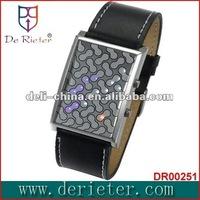 de rieter watch watch design and OEM ODM factory plastic small flickering maraca