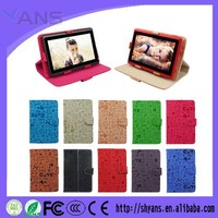 Custom Universal Shockproof Leather Flip Cover 7 Inch Tablet Case