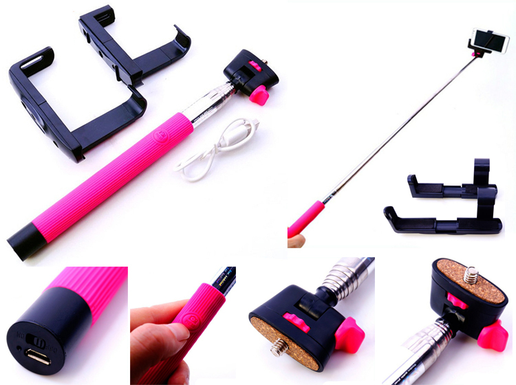customization monopod bluetooth selfie stick with bluetooth shutter button buy selfie stick. Black Bedroom Furniture Sets. Home Design Ideas