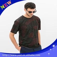 Hot sale custom t-shirt elastane