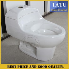Colored chinaese one piece toilet bowl