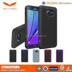High Quality Custom Strong Defender Protective Case Cover For Samsung Galaxy Note 5 Manufacturer