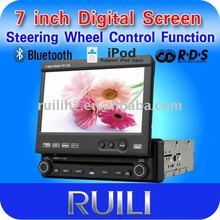 1din car mp3/mp4 player with iPod input