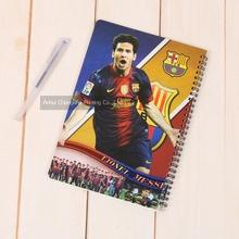 Football Club Design Sprial Notebook Factory Supplier