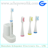 Mini electronic toothbrush inductive charging with replace brush head in stock