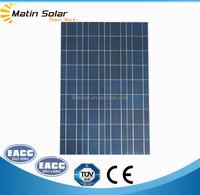 High efficiency Poly 100W solar panel