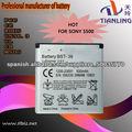 Batería recargable Li-ion batería del teléfono celular para S500