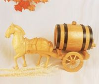 Low price cheapest handmade crafts whiskey barrel for sale