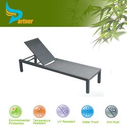 Folding Outdoor Brown Rattan Steel Sun Loungers 2015 Elgent Patio Synthetic Wicker Beach Chair/ Sun Lounger