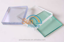 10 years warranty Lexan polycarbonate uv400 protection