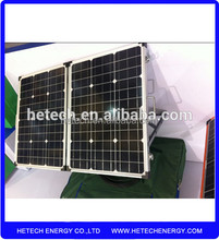 china factory direct sell 60W 80W 100W 120W 12V folding foldable solar panel camping