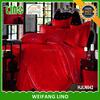 wedding bed sheet set/300tc sateen sheet set/turkish wedding cover set