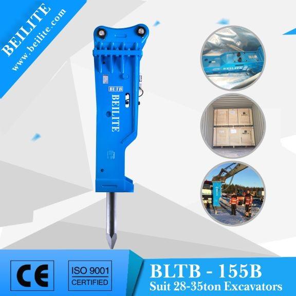 18-35 ton escavadeira BLTB - 155B com preços competitivos martelo hidráulico