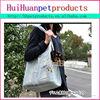 Expandable pet dog carrier bag sturdy bag pet carrier