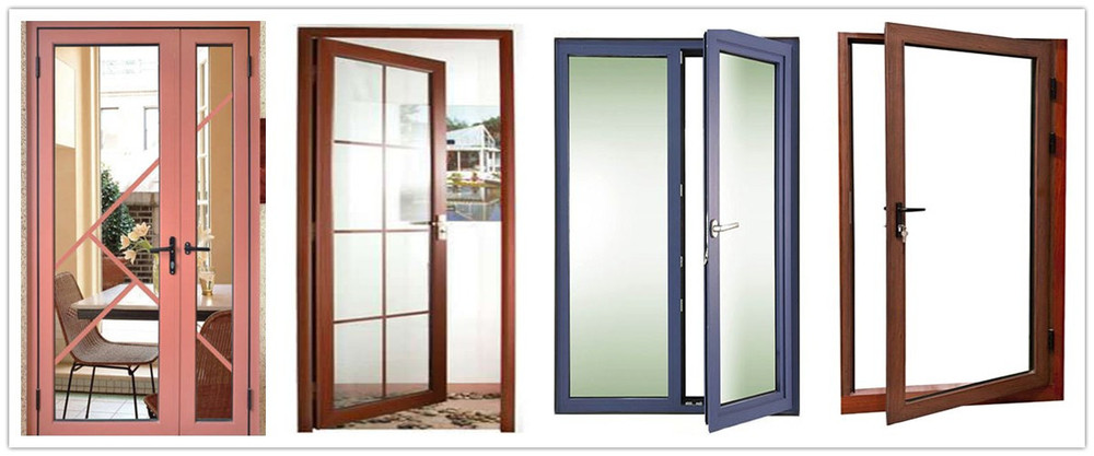 Aluminium Glass Doors : Half aluminum and glass interior door mq em buy