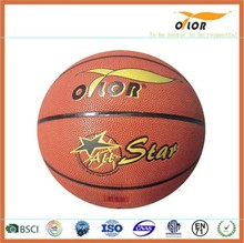 Mini PU leather laminated indoor outdoor basketballs