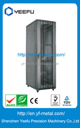 single open arc door with round holes outdoor network cabinet