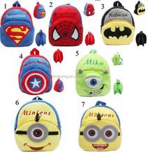 2015new fashion school bag,Children's backpack,kids cartoon school backpack