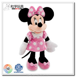 [Disney Auditd factory ] Famous lovely Minnie Mouse/ Mickey Mouse plush toy