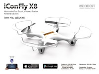 ICONFLY APP BLUEtooth remote airplane X8