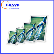 Acrylic frame, 2.5x3.5 picture frame, 4x4 Plexiglass acrylic picture frame