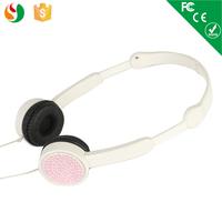 Fashionable earmuff headphones fancy color headphone