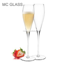 Wholesale Glassware Crystal Champagne Flute Glass for Wedding