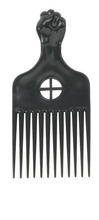 High quality heat resistant afro hot pick electric comb