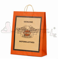 high quality cheap machine kraft paper bag with logo