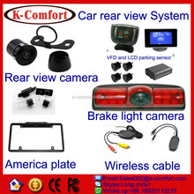 K-comfort good price and quality eu license plate mount camera Mainly for European and USA market for sale