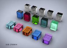 Light portable PETG unique style reusable ice cube for Wisky&Cooler