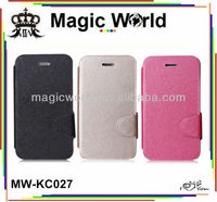 Newly mobile phone leather flip case for samsung galaxy note 2