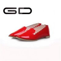 Sexy red cheap price high quality dress women shoes girls for working